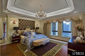 家居欧式装修大卧室效果图欣赏