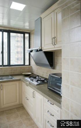 田园简欧设计厨房装修效果图