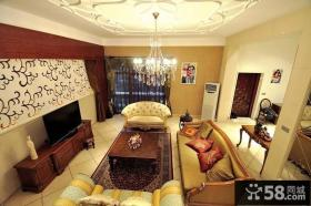 欧式小别墅客厅图片