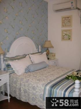 欧式田园风格卧室装修效果图欣赏