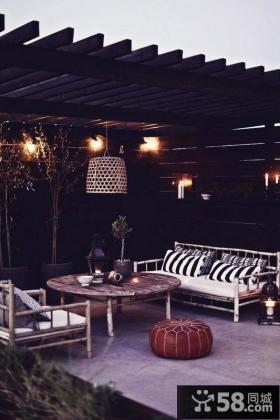 复古设计阳台图片欣赏