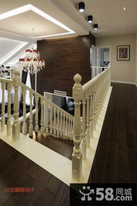 复式楼楼梯装修图片
