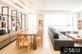 宜家风格公寓餐厅装饰设计效果图
