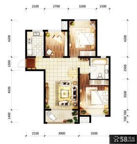 二层别墅户型图欣赏