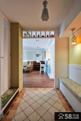 田园风格三居室家居设计效果图片