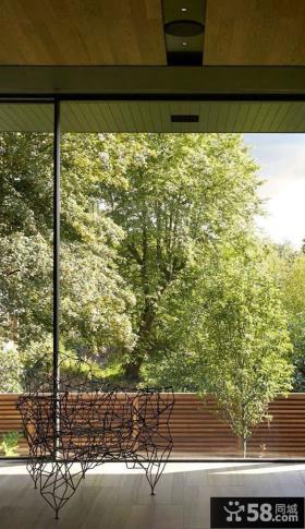 简约现代阳台设计图