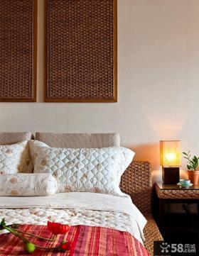 东南亚设计卧室床头灯图