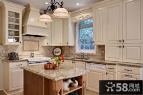 三室两厅北欧小清新厨房橱柜装修效果图大全2013图片