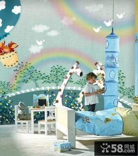 儿童卧室装修效果图 儿童房装修效果图大全2012图片