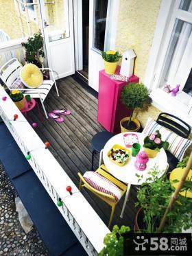 家庭阳台装修效果图