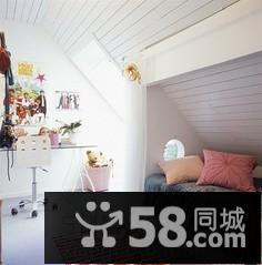 简约风格小卧室阁楼设计效果图