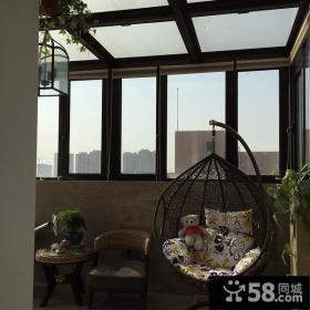 休闲阳光阳台设计案例