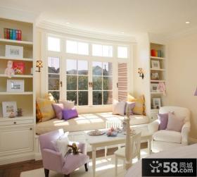 卧室飘窗装修效果图 卧室飘窗设计