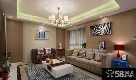 美式风格小户型室内装修效果图