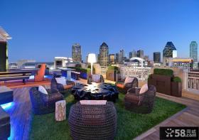露天阳台装修效果图大全2012图片 开放式阳台效果图