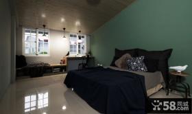 乡村美式风格别墅卧室设计效果图