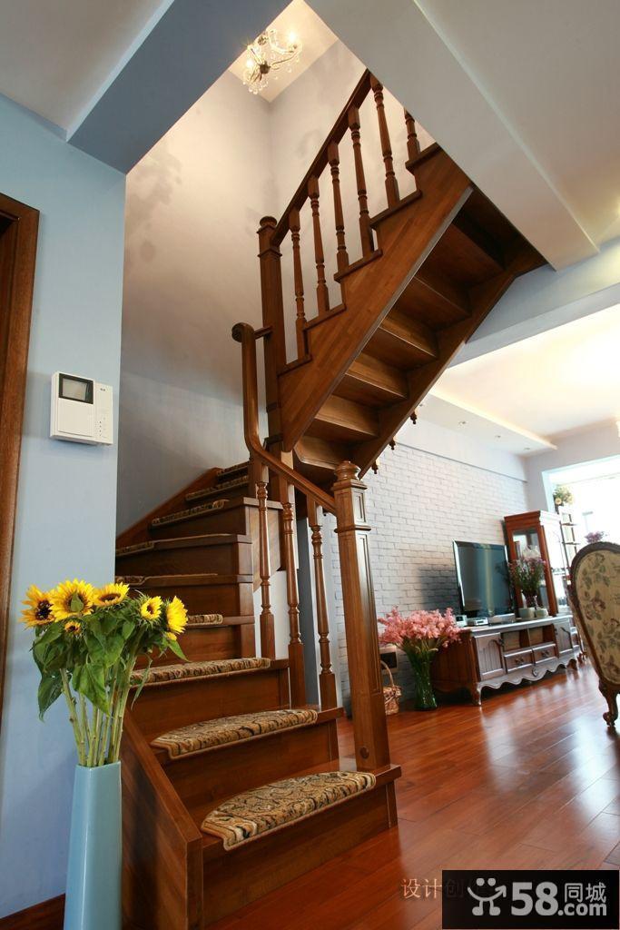 小复式楼梯装修效果图大全2014图片图片