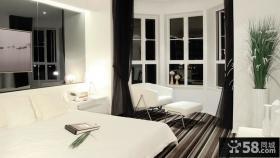现代主人房卧室装修效果图