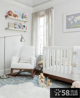 极简主义风格室内儿童房图片大全