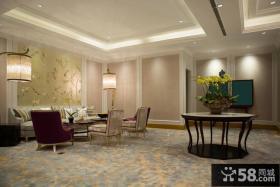 古典欧式居家客厅装修图