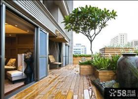 家庭设计装修阳台图片