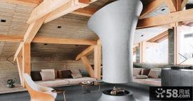 复式斜顶阁楼装修设计