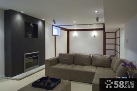 50平米小户型日式风格客厅装修效果图大全2014图片