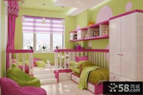 家装设计混搭儿童房图片欣赏