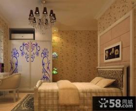 欧式风格青少年卧室装修效果图