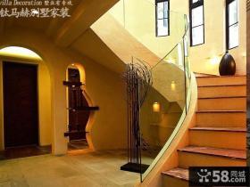 乡村小别墅楼梯设计