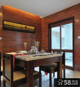 中式家居餐厅装修设计2014图片