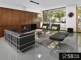 经典奢华的美式风格装修效果图客厅图片