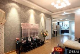 2013年婚房客厅电视背景墙效果图
