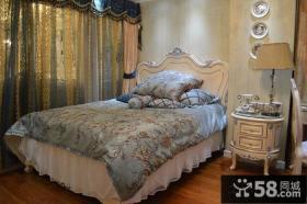 欧式新古典卧室床头柜图片