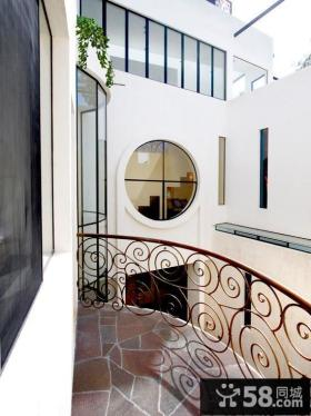 别墅露天阳台装修实景图欣赏