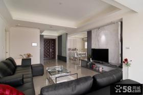 2015简约风格两室一厅室内设计图片