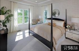 微微的田园美式风格装修客厅图片