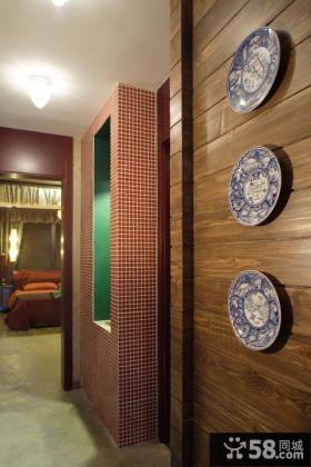 日式现代装修风格书房窗帘效果图