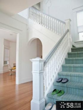 欧式别墅楼梯扶手设计
