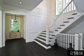 现代装修设计楼梯效果图大全