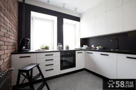 现代简约设计室内厨房装修图片