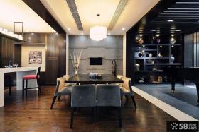 中式风格自建别墅装修图片欣赏