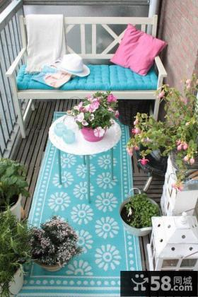 2平米小阳台装饰效果图