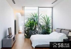 现代家居别墅室内卧室装修图片