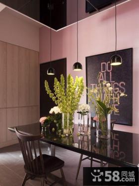 简约设计小户型室内餐厅效果图