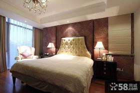 卧室家装样板房图片