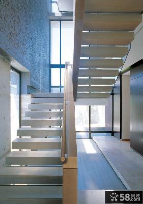 复式房子装修效果图 楼梯__芒果装修效果图-复式 客厅 楼梯装修效果图