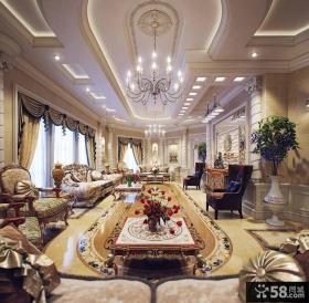欧式风格豪宅别墅房间设计效果图