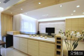 现代风格三室一厅室内家居装饰效果图