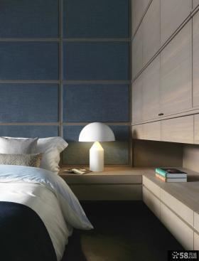 现代风格装修卧室床头灯具效果图